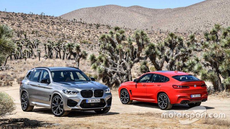 BMW X3 M та BMW X4 M