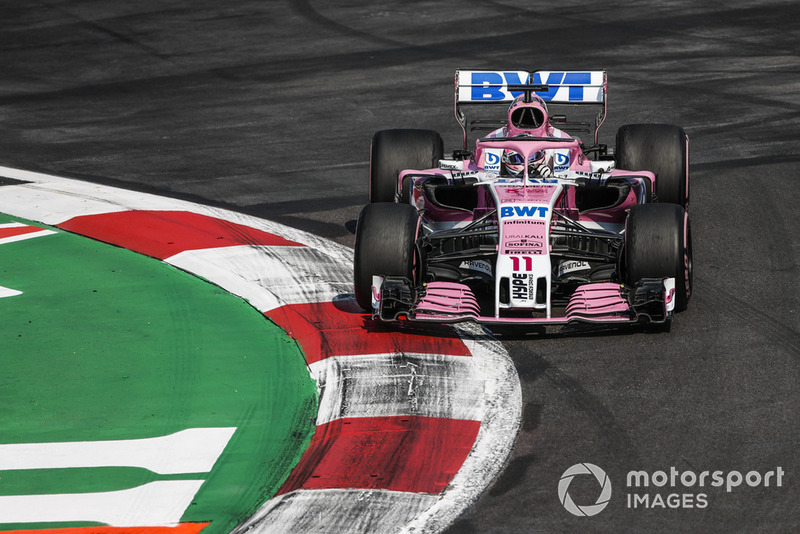 13. Sergio Perez, Racing Point Force India VJM11