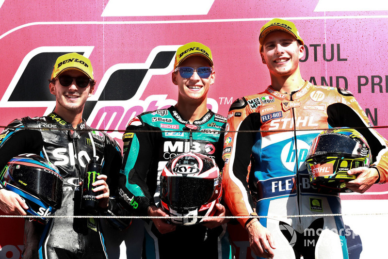 Francesco Bagnaia, Sky Racing Team VR46, Fabio Quartararo, Speed Up Racing, Lorenzo Baldassarri, Pons HP40