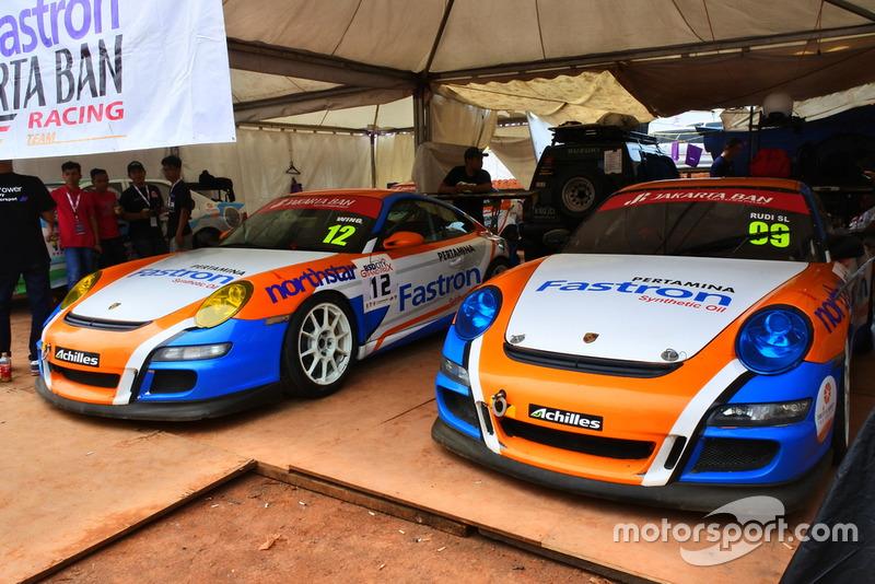 Porsche Carrera, Wing Bharoto, Rudy SL, Fastron Jakarta Ban, ETCC 3000
