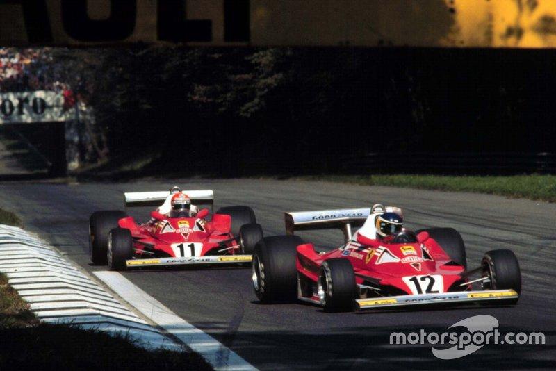 11: Niki Lauda & Carlos Reutemann (Ferrari)