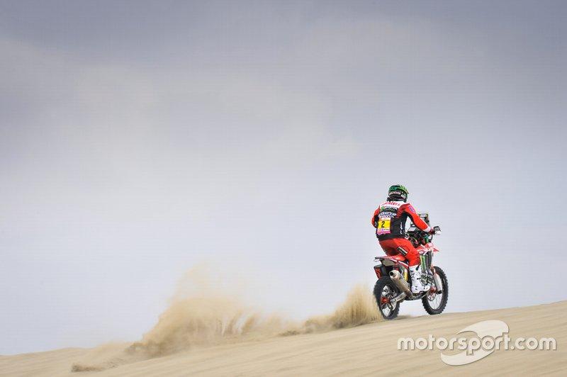 #2 Monster Energy Honda: Paulo Goncalves