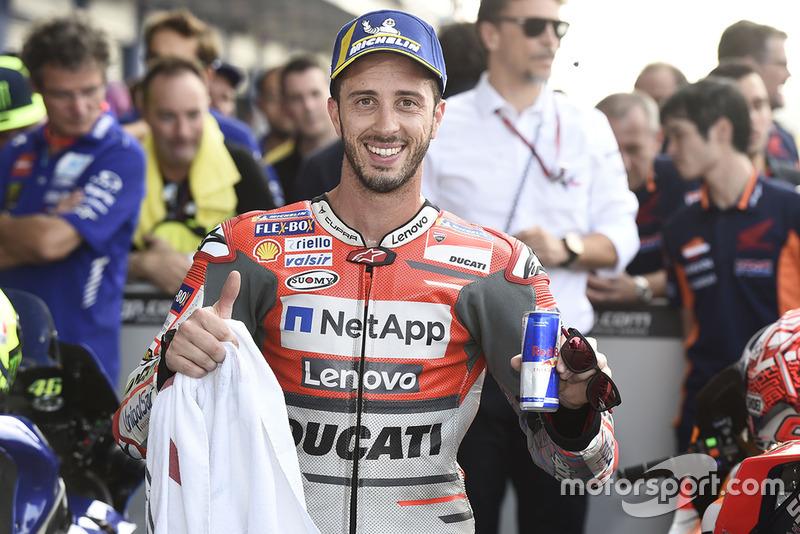 Andrea Dovizioso, Ducati Team third place qualifying