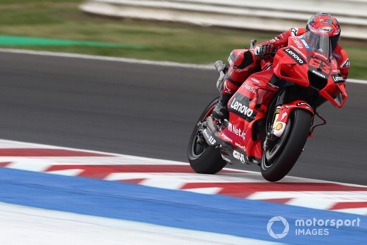 Francesco Bagnaia, equipo Ducati