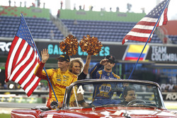 Ryan Hunter-Reay and Alexander Rossi, Team USA Indycar