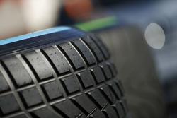 Wet and intermediate Pirelli tyres