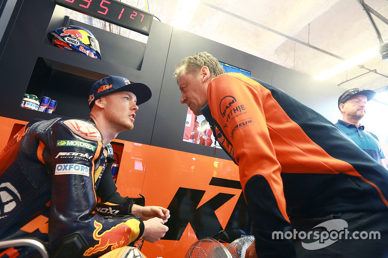Bradley Smith, Red Bull KTM Factory Racing, Mike Leitner, Red Bull KTM Factory Racing