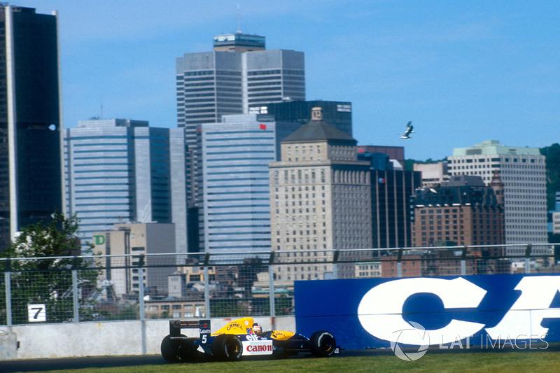 Nigel Mansell, Williams FW14 Renault