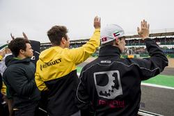 Nyck De Vries, Rapax, Oliver Rowland, DAMS y Louis Deletraz, Racing Engineering