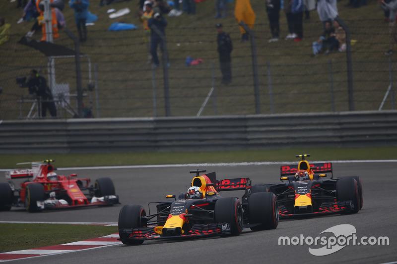 Un podio con sabor a triunfo para Verstappen