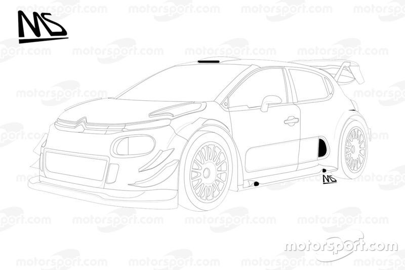 Citroën C3 WRC Plus 2017 detalle