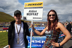 Grid girl of Aiden Moffat, Laser Tools Racing Mercedes Benz A-Class