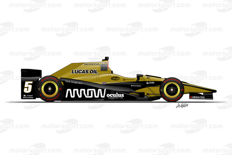 #5 - James Hinchcliffe, Schmidt/Peterson Motorsports Honda
