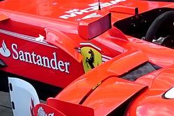 Ferrari SF70H cockpit fin