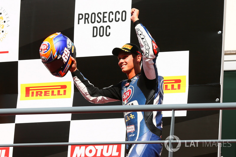 Podium: Michael van der Mark, Pata Yamaha