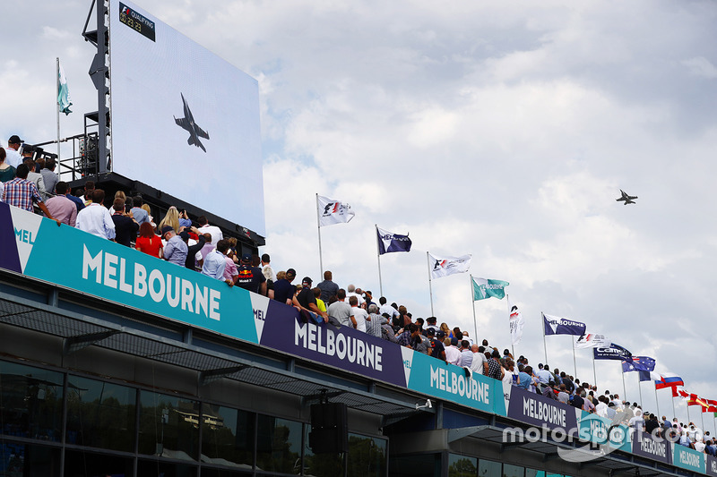 Flugshow in Melbourne