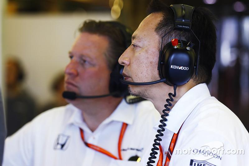 Yusuke Hasegawa, Honda, Zak Brown, McLaren Technology Group