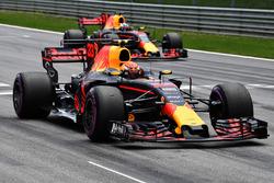 Отработка процедуры старта: Макс Ферстаппен, Red Bull Racing RB13