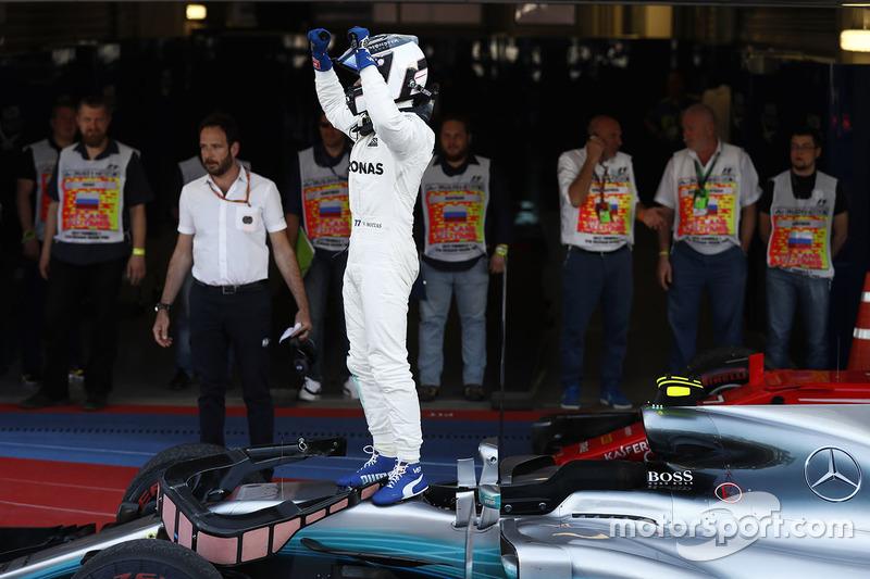 4. GP de Rusia 2017: Valtteri Bottas (1º)