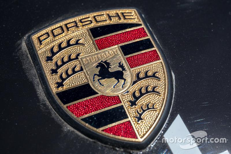 Porsche Logo At Pikes Peak On June 22nd 2017
