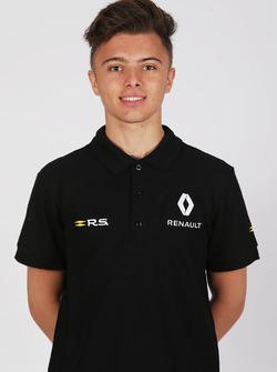 ماكس فيوتريل، سائق بأكاديمية رينو للسائقين الشباب