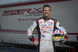 Александр Вурц на тестах World RX Team Austria Ford Fiesta