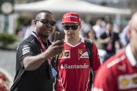 Kimi Raikkonen, Ferrari fanlarla selfie