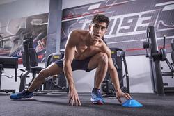 Marc Marquez à l'entraînement à Cervera, Espagne