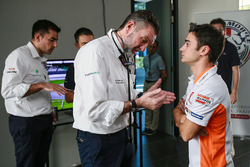 Dani Pedrosa, Repsol Honda Team, Dr Angel Charte, Medical Director MotoGP