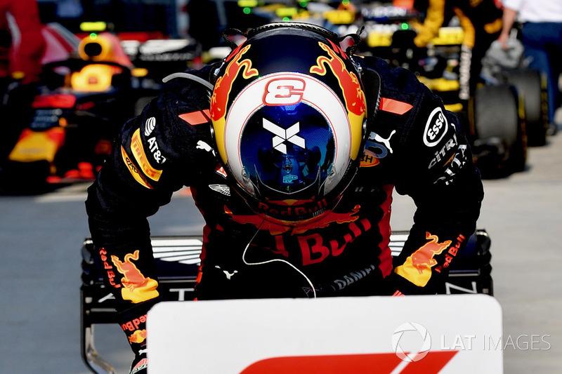 Yarış galibi Daniel Ricciardo, Red Bull Racing RB14