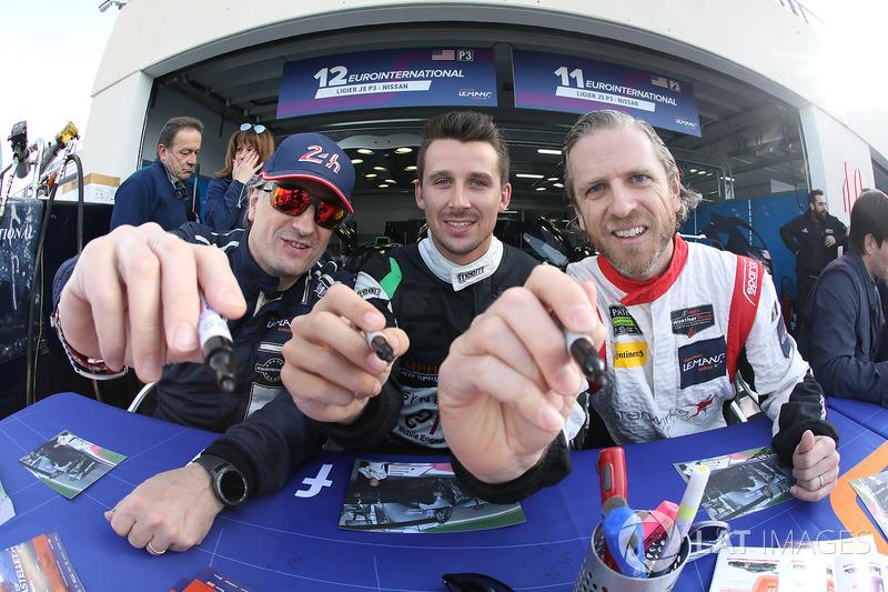 #12 Eurointernational Ligier JS P3 - Nissan: Andrea Dromedari, Maxwell Hanratty, James Dayson