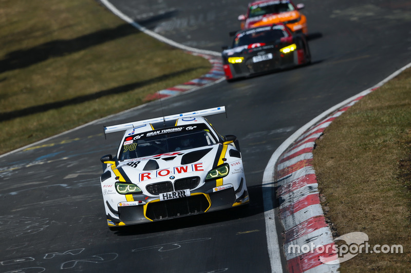 14. #98 ROWE Racing BMW M6 GT3: Nicky Catsburg, Richard Westbrook, John Edward, Tom Blomqvists
