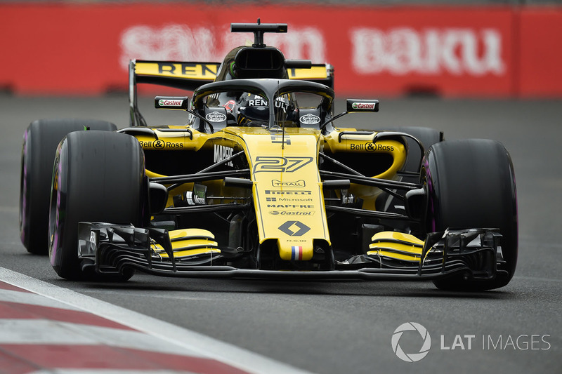 Hulkenberg echoes Raikkonen's famous 'leave me alone' quote on lap 10