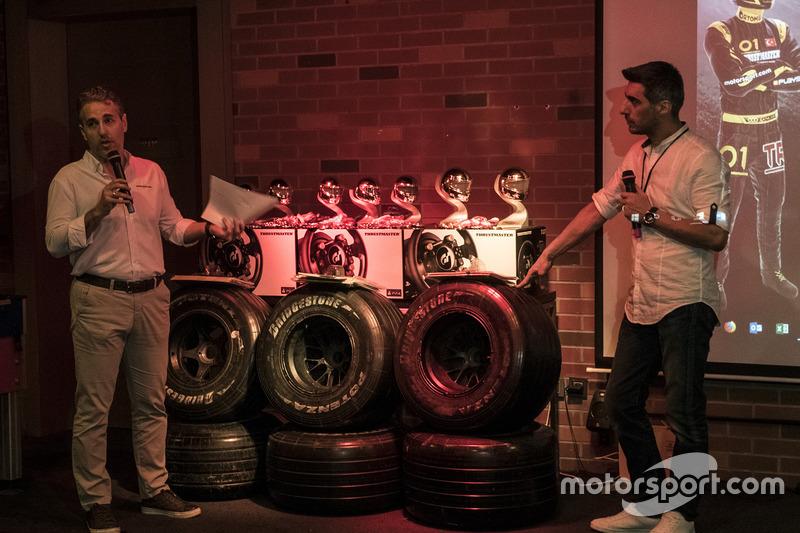 Thrustmaster F1 2017 Türkiye Ligi ödül töreni