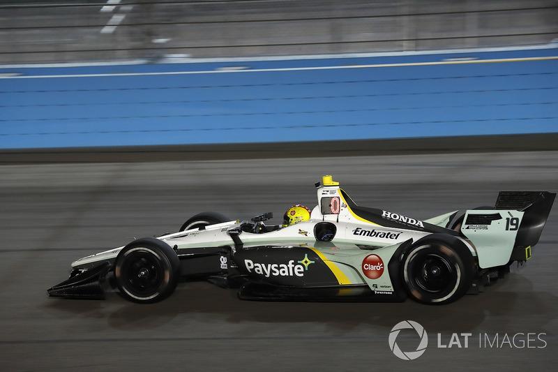 #19: Pietro Fittipaldi / Zachary Claman DeMelo, Dale Coyne Racing, Honda