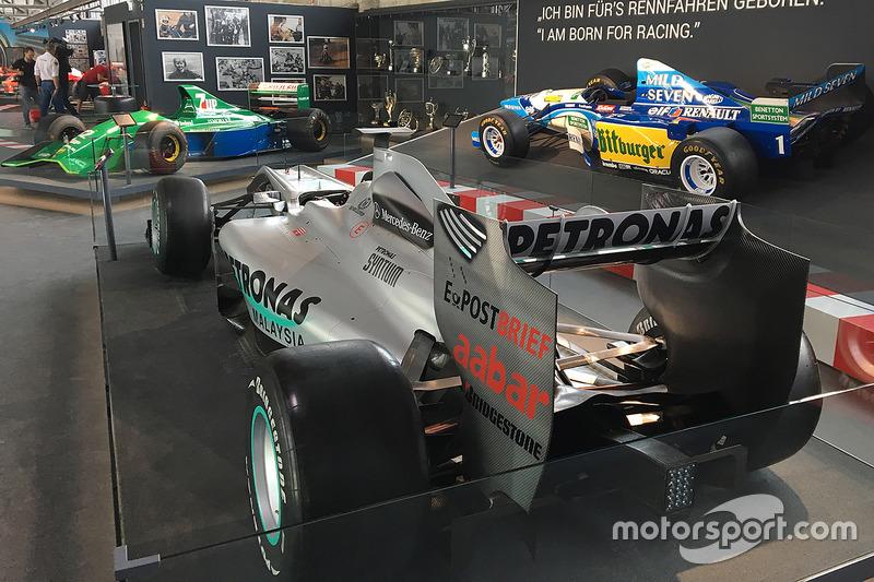 Коллекция машин Михаэля Шумахера