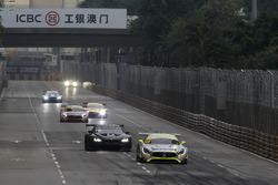 Restart, Edoardo Mortara, Mercedes-AMG Team Driving Academy, Mercedes - AMG GT3 leads