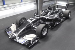 Windtunnel model of the 2019 Super Formula car (SF19)