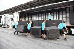 Mercedes AMG F1 freight
