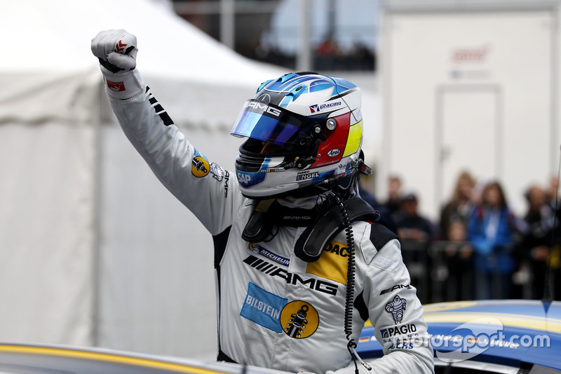 Pole position for #9 AMG-Team Black Falcon, Mercedes-AMG GT3: Maro Engel