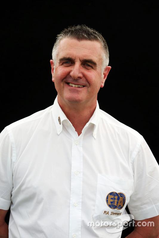 Alan Donnelly, FIA Steward
