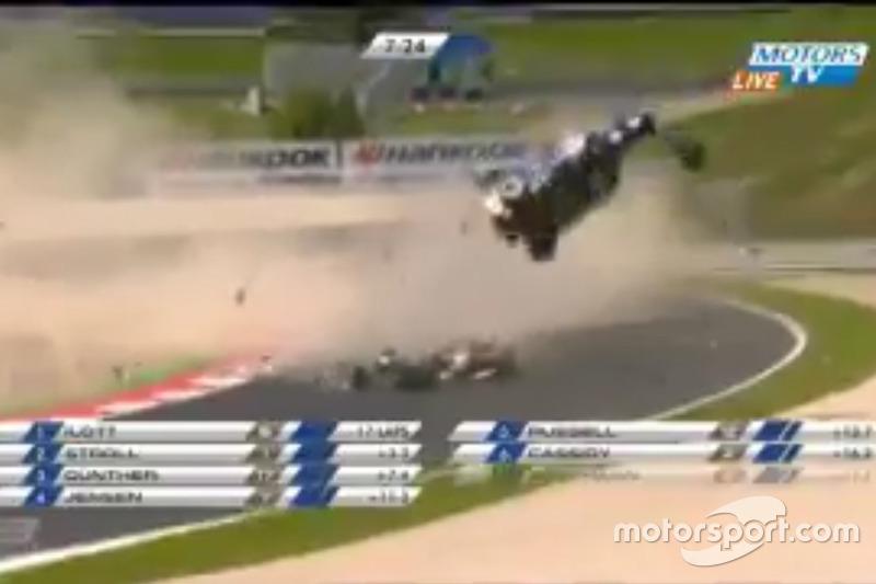 Acidente Piquet, Tveter e Li