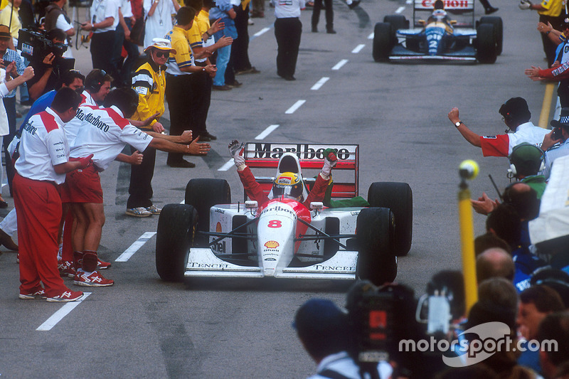 1993: McLaren MP4-8 / Ford HBE7