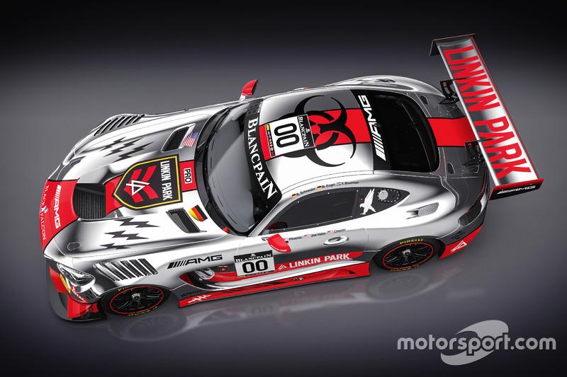 AMG-Team Black Falcon Design livery