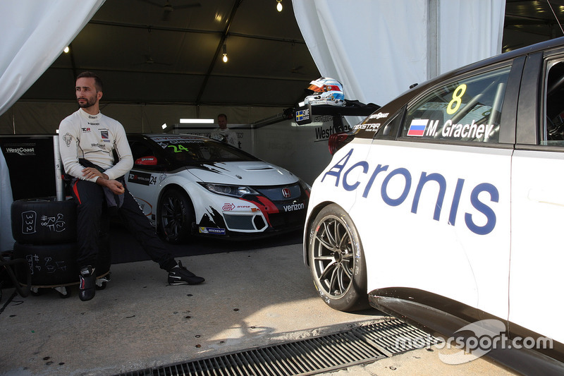 Mikhail Grachev, Honda Civic TCR , WestCoast Racing