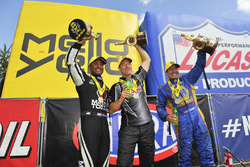 Antron Brown, Ron Capps, Greg Anderson