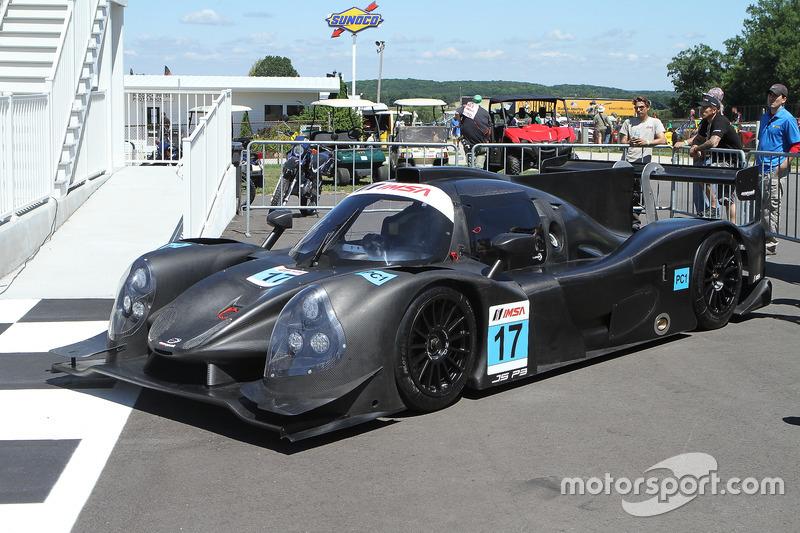La Ligier JS P3 che verrà usata nella classe Prototype Lites PC1