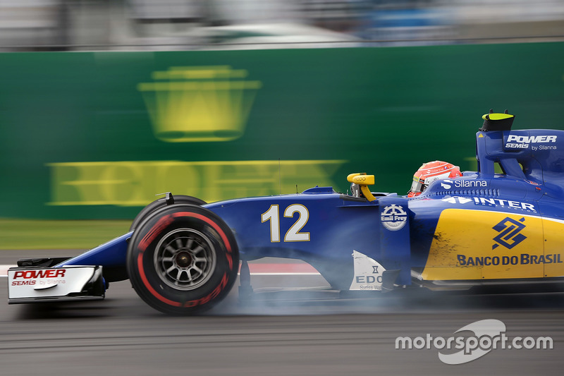 Verbremser: Felipe Nasr, Sauber C35