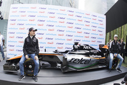 Sergio Pérez, Sahara Force India y Nico Hulkenberg, Sahara Force India