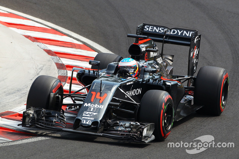7. Fernando Alonso, McLaren MP4-31